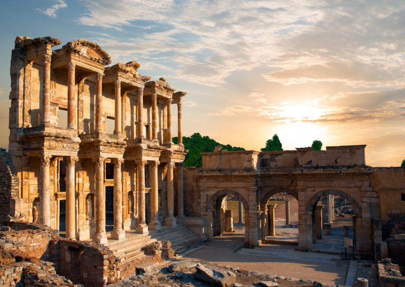 Visit The 3rd Largest Library Of The Roman Empire During The Ancient Ephesus Tour From Selcuk And Kusadasi