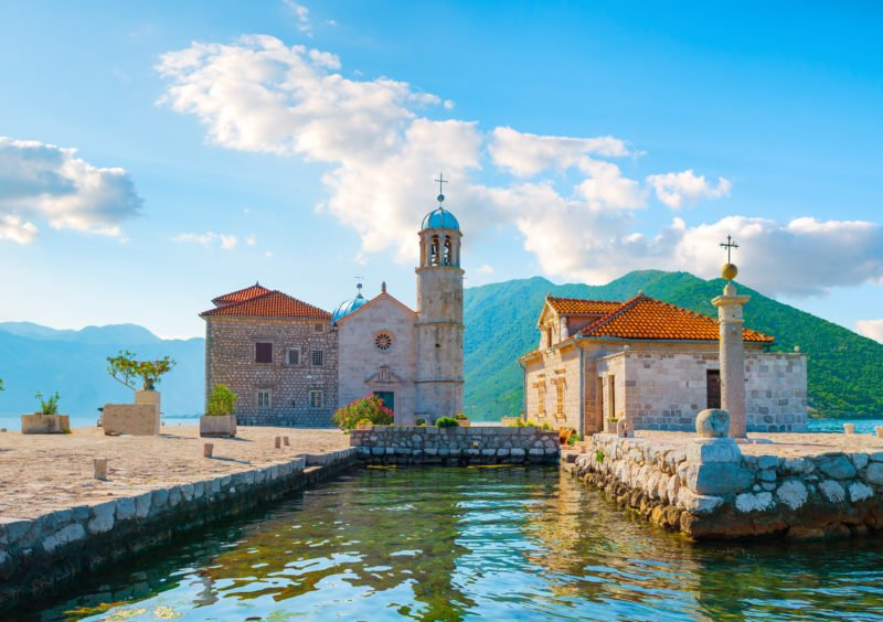 Visit The Church Of Our Lady Of The Rocks On The Montenegro Day Tour From Dubrovnik