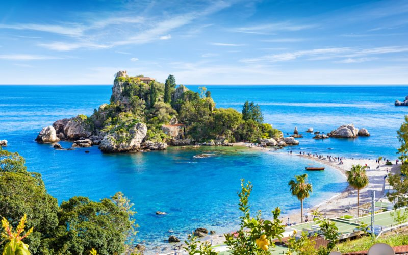 Visit The Isola Bella On The Isolabella & Blue Cave Boat Tour From Taormina