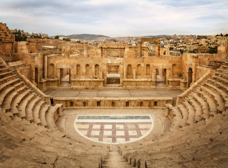 Visit The Ancient Ruins Of Jerash On The Highlights Of Jordan 3 Day Tour From Amman