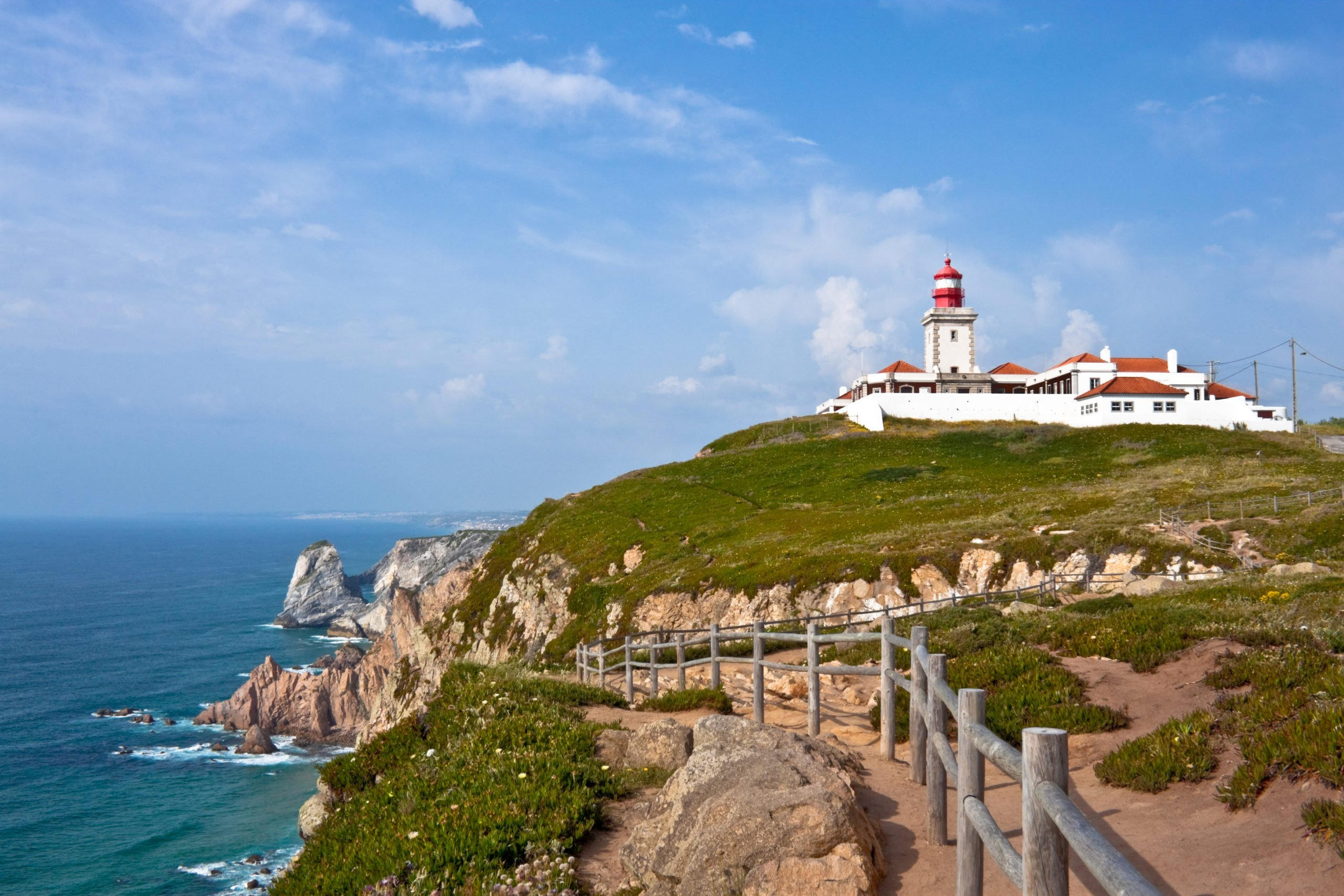 Visit The Lighthouse At The Cabo Da Roca On The Sintra Half Day Tour From Lisbon