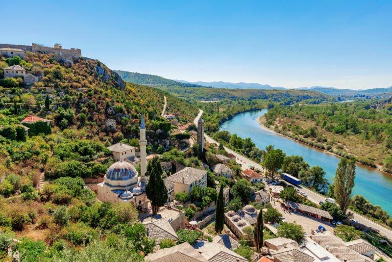 Visit The Village Of Pocitelj On The Mostar And Kravice Tour From Dubrovnik