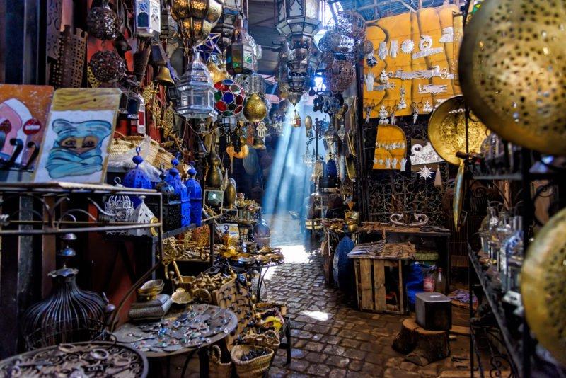 Marrakesh Markets And Souks