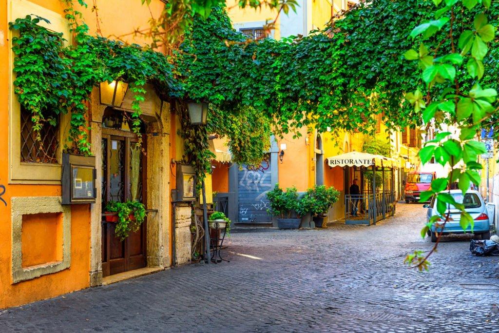 2 days in rome trastevere