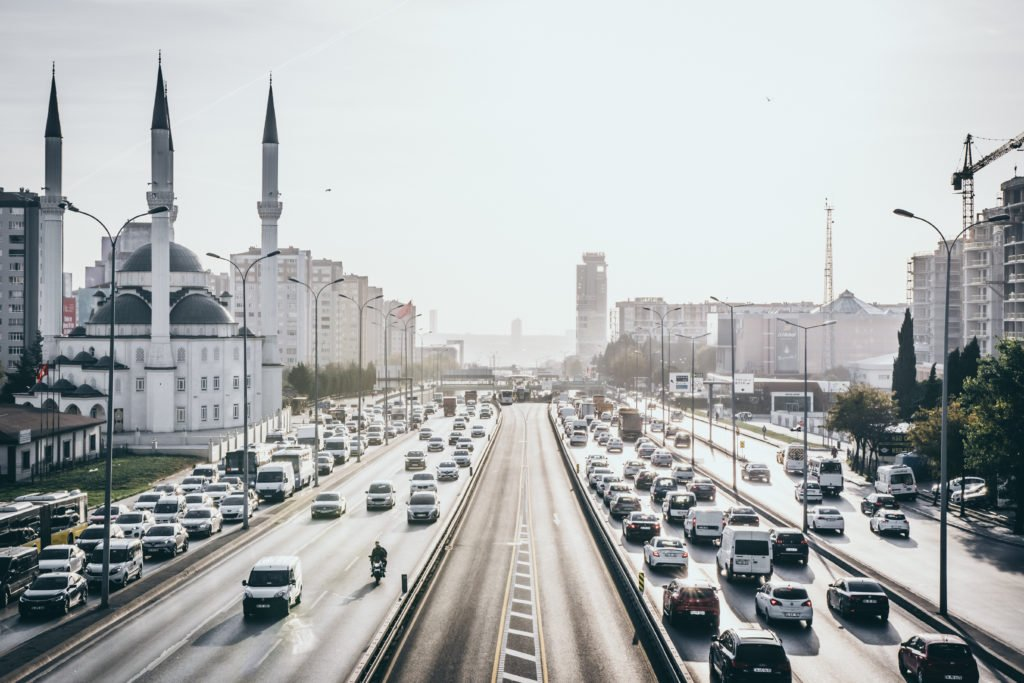 Driving safely Istanbul