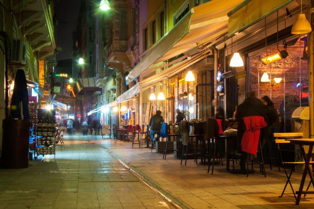 Busy street Taksim