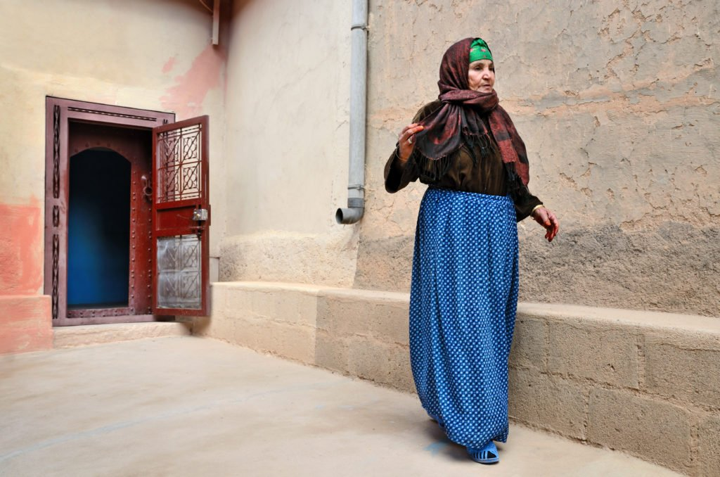 Woman Clothing Moroccan Culture