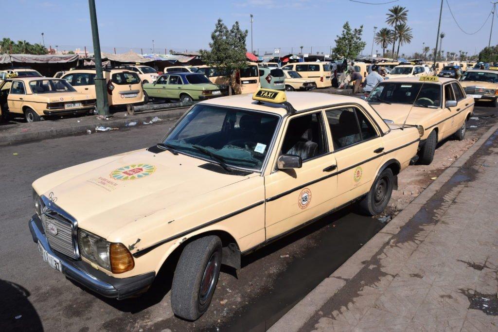 Moroccan Taxi Airport Marrakesh