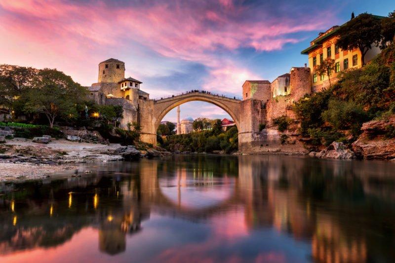 Travel To Mostar The Best Of Adriatic Sea 11 Day Package Tour (slovenia-croatia-bosnia And Herzegovina-montenegro)