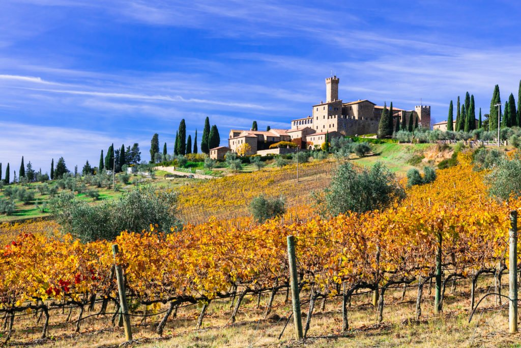 castle montalcino