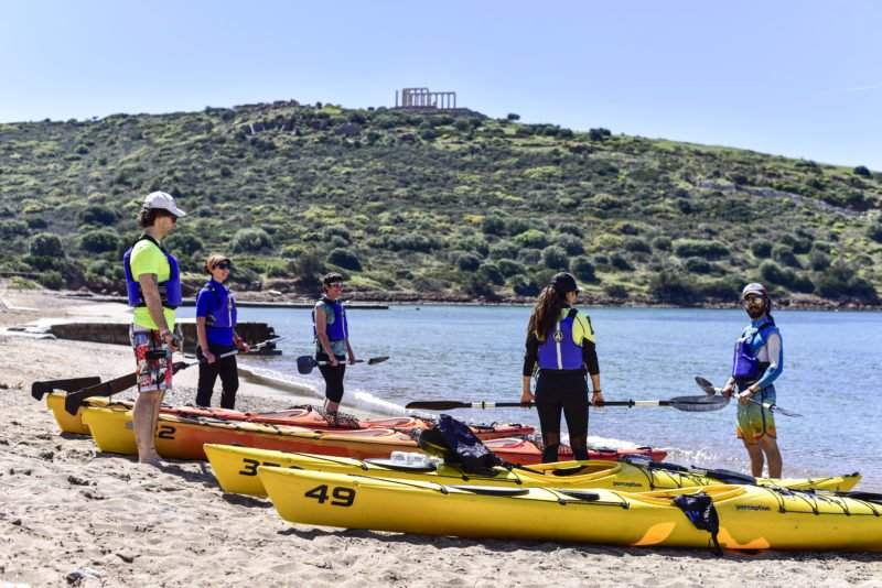A Professional Instructor Will Introduce You To The Equipment On The Sea Kayak Tour From Athens_70