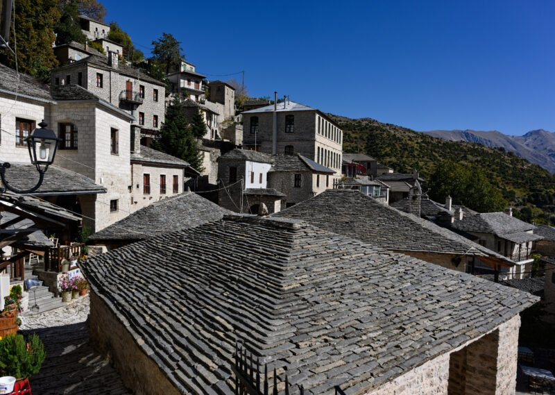 Admire The Traditional Houses Of Sirako During The Sirako And Kalarites Hiking Tour From Tzoumerka