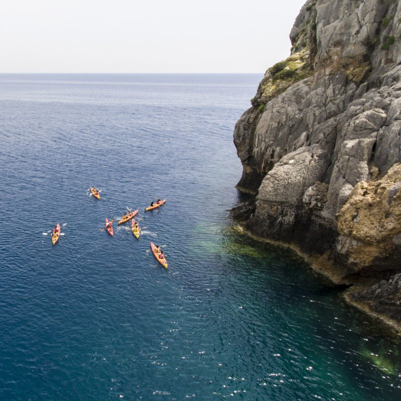 An Extraordinary Eco Way Of Exploring The Coastline Of Rhodes In Our Sea Kayak Half Day Tour