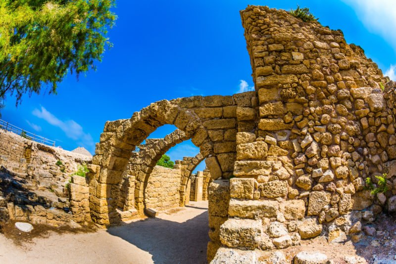 Discover Caesarea On The 13 Day Highlights Of Israel, Saudi Arabia & Jordan Package Tour
