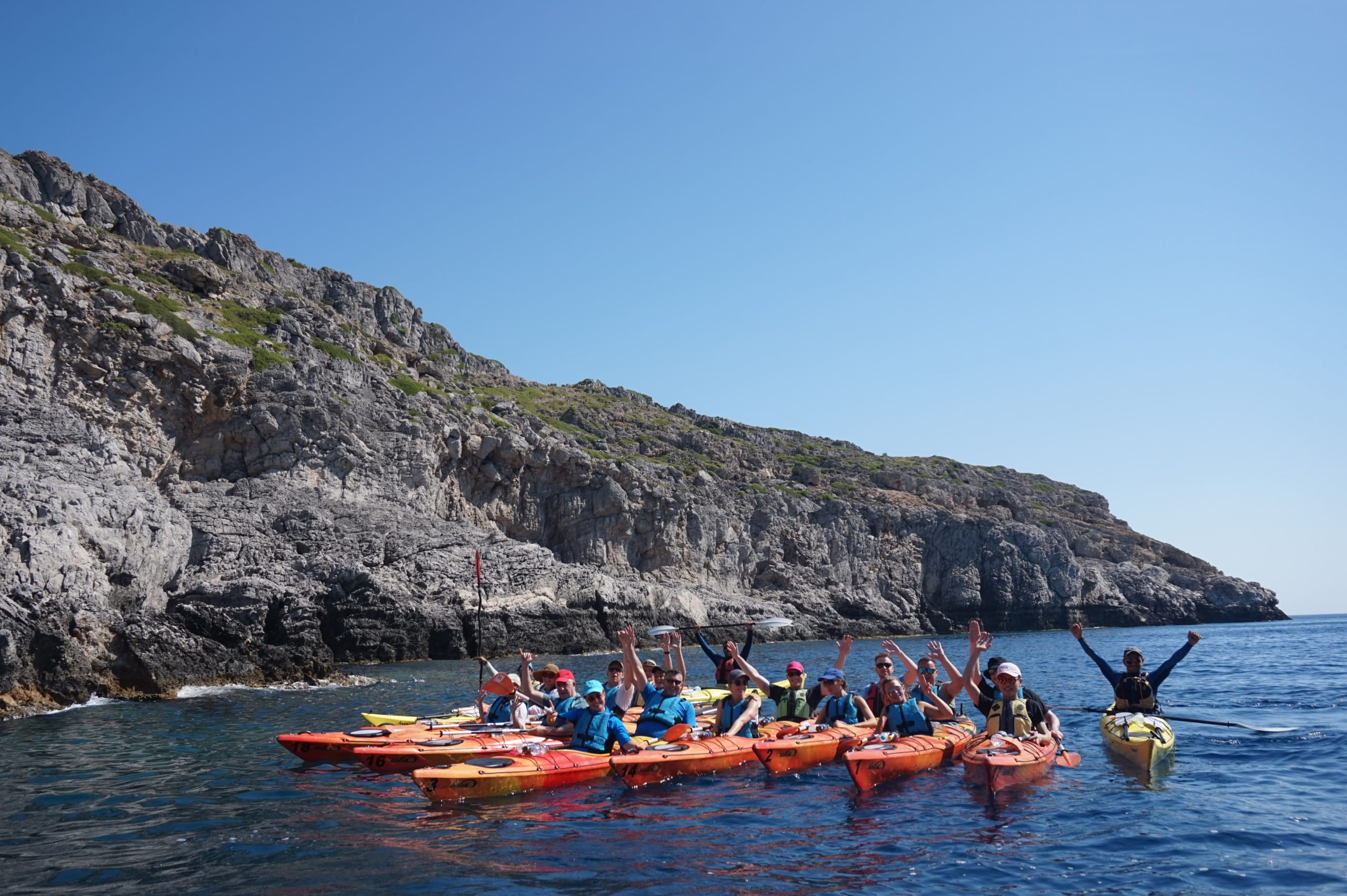 Discover Lindos In Our Sea Kayak Day Tour