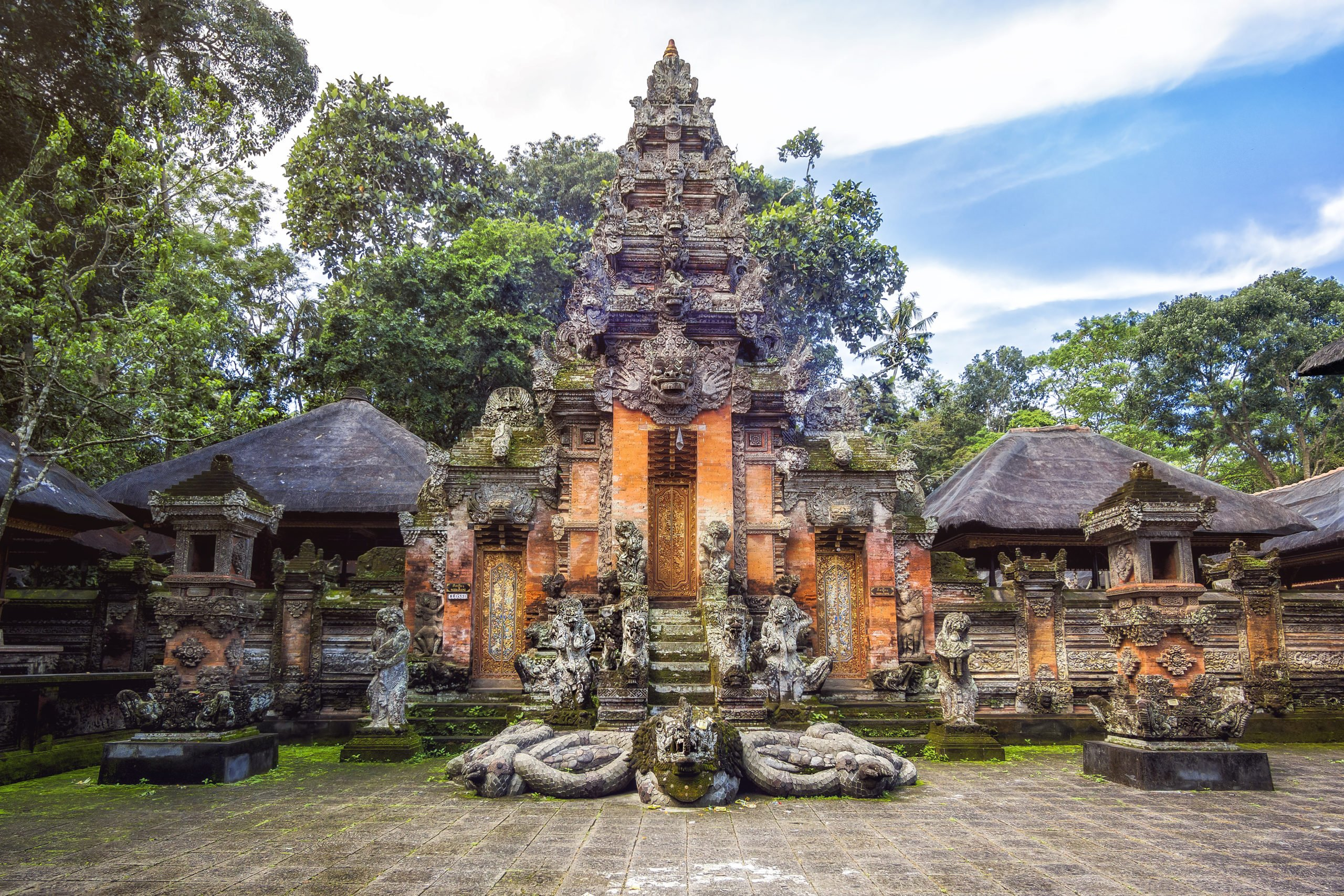 Discover The Temple In The Monkey Forest On The Ubud Village Tour