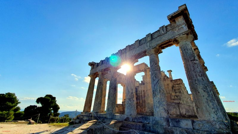 Discover The Ancient Ruins On The Aegina Cultural And Hiking Tour From Athens