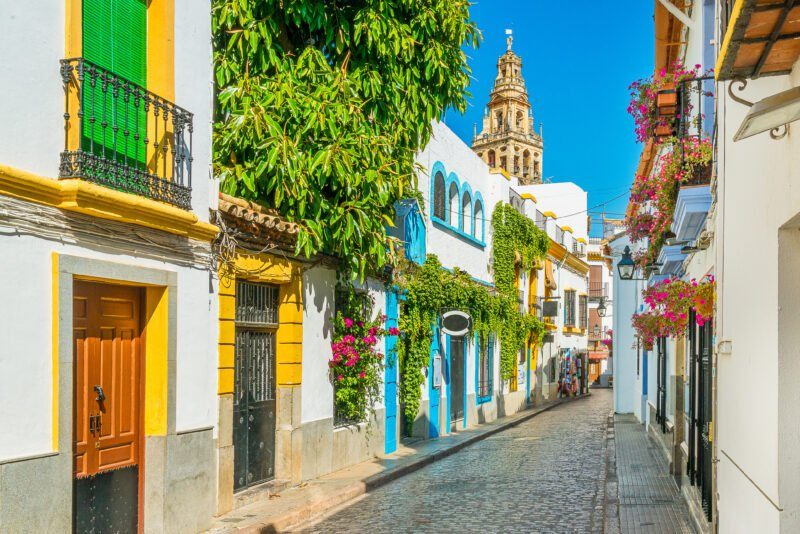 Discover The Beautiful And Colorful Jewish Quarter Of Cordoba On The Cordoba Tour From Granada