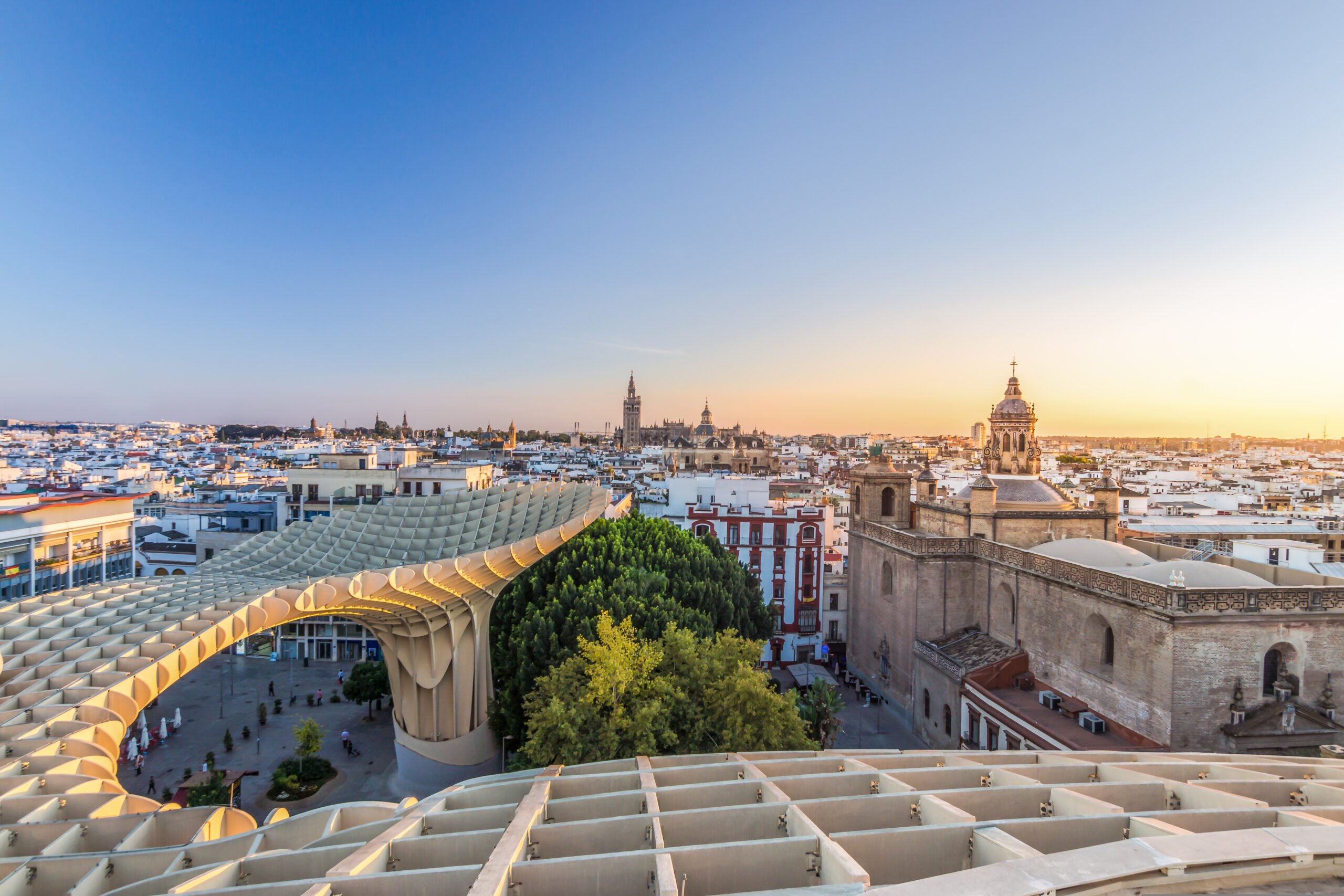 Discover The Beautiful City Of Seville On The Seville Rooftop Walking Tour