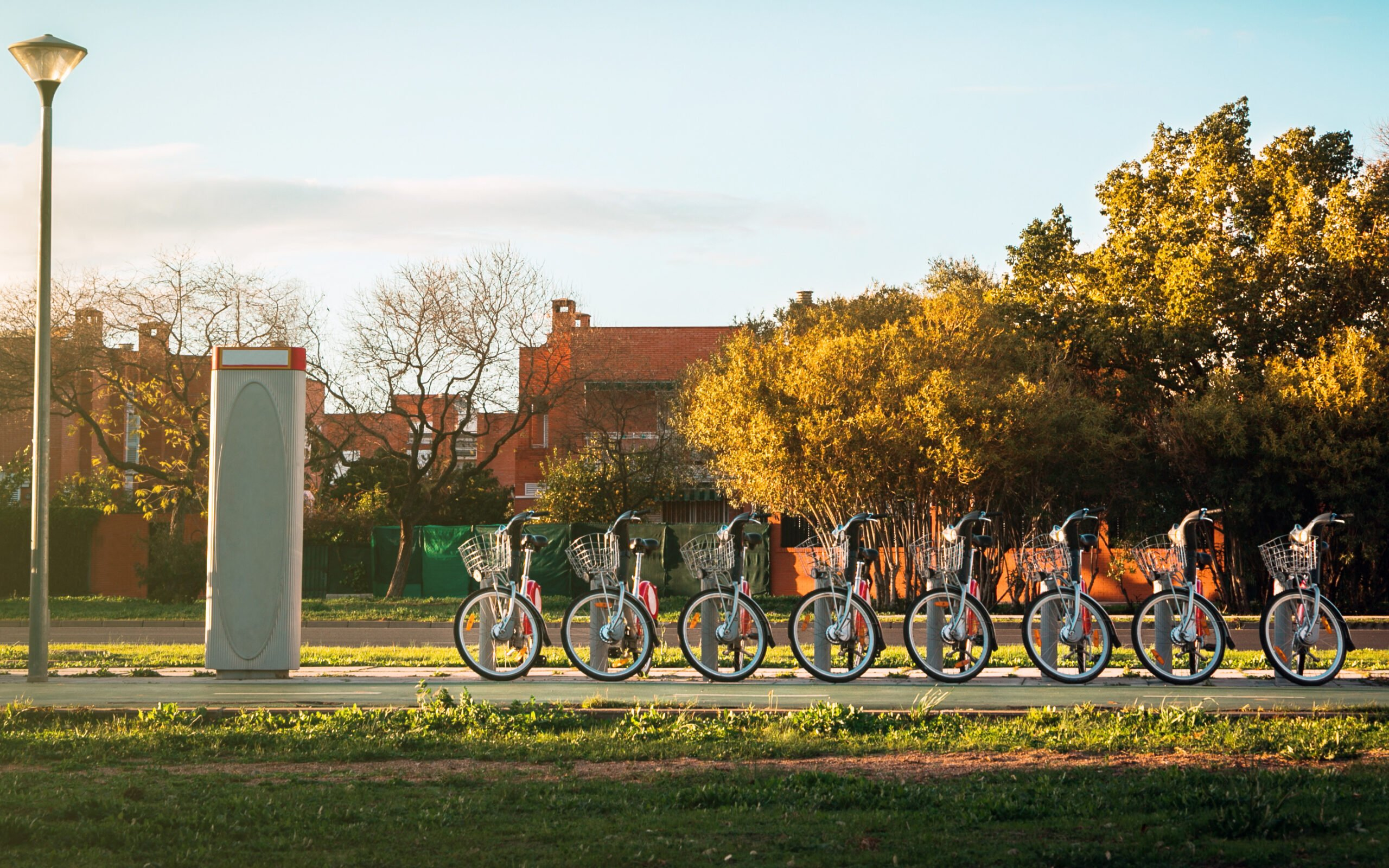 Discover The Beautiful Parks By Bike