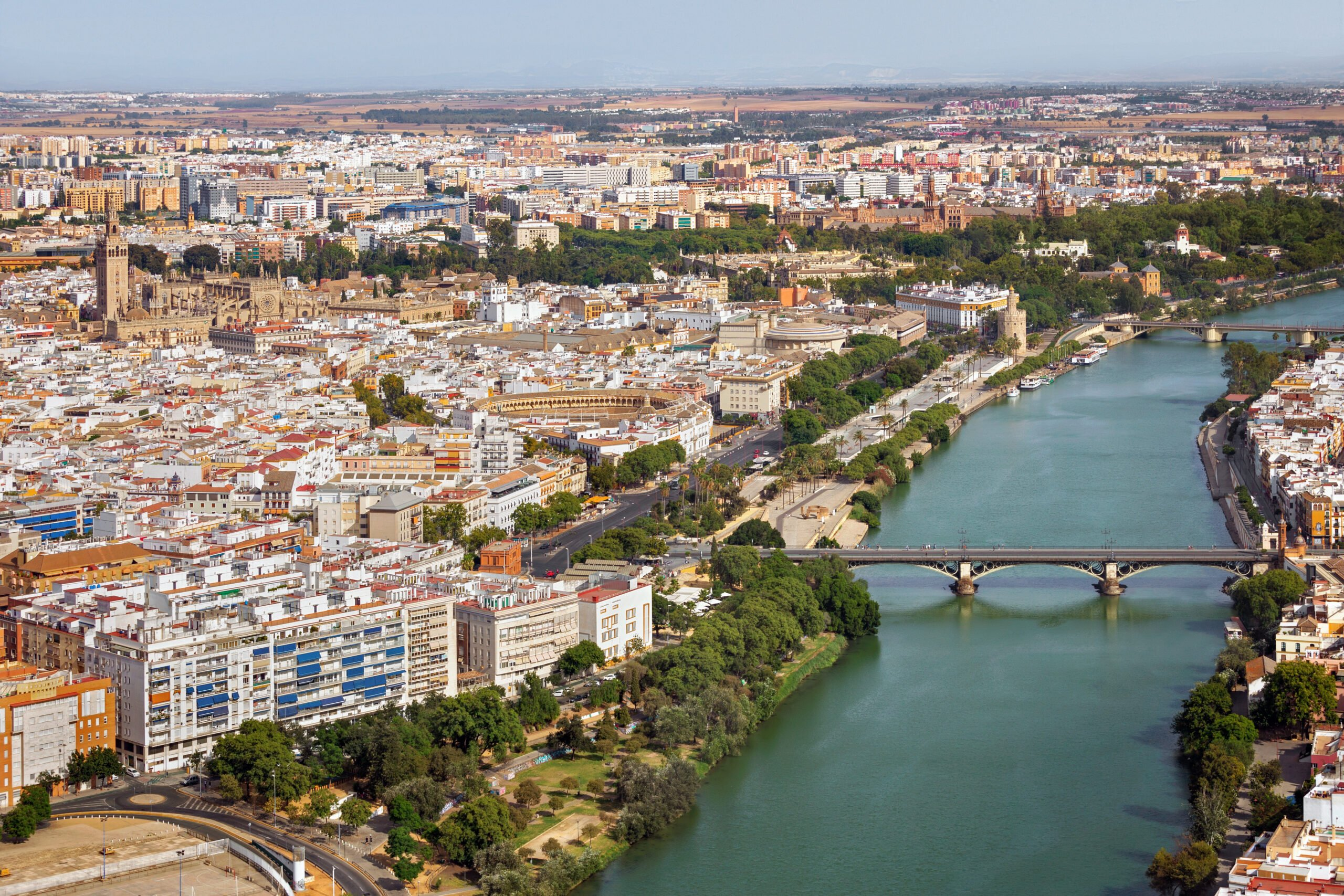 Discover The Riverbanks Of Seville On The Seville Rooftop Walking Tour