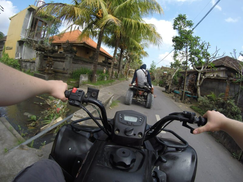 Drive Through Traditional Villages On The Bali Atv Adventure