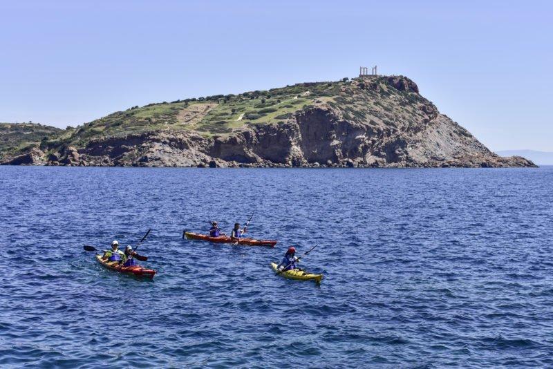 Enjoy A Kayak Tour Near Cape Sounio On The Sea Kayak Tour From Athens_70