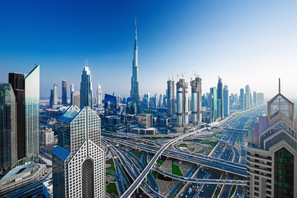 Is Dubai Airport close to downtown Dubai?