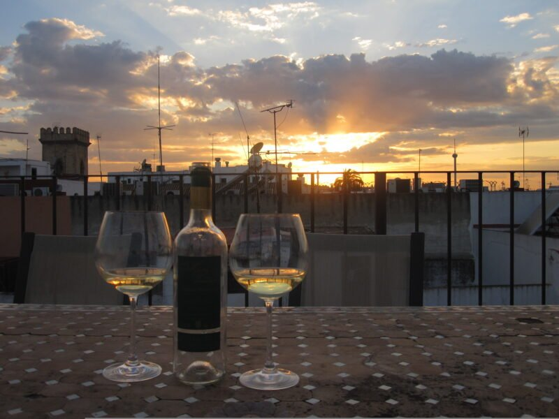 Enjoy A Drink On Top Of Seville On The Seville Rooftop Walking Tour