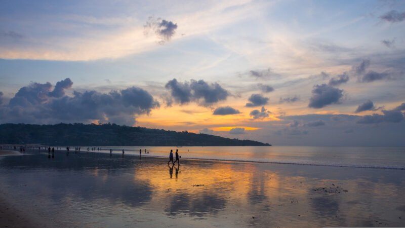 Enjoy Dinner At The Beautiful Jimbaran Beach During The 2 Day Western Bali And Sunrise Hike At Mt Batur From Sanur, Nusa Dua, Seminyak And Tanjung Benoa