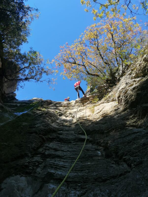 Enjoy The Abseiling During The The Canyoning Experience In Tzoumerka_71