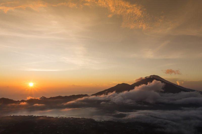 Enjoy The Beautiful Sunrise From Mt Batur
