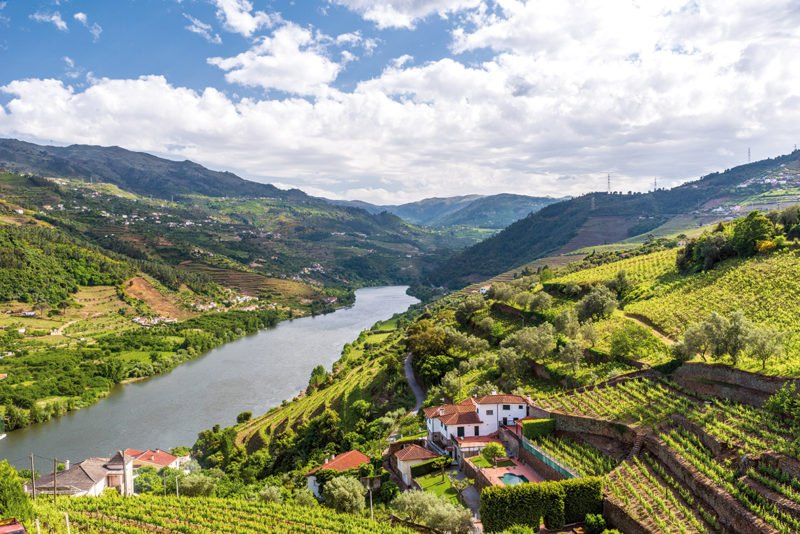 Enjoy The Beautiful Views Over Douro Valley