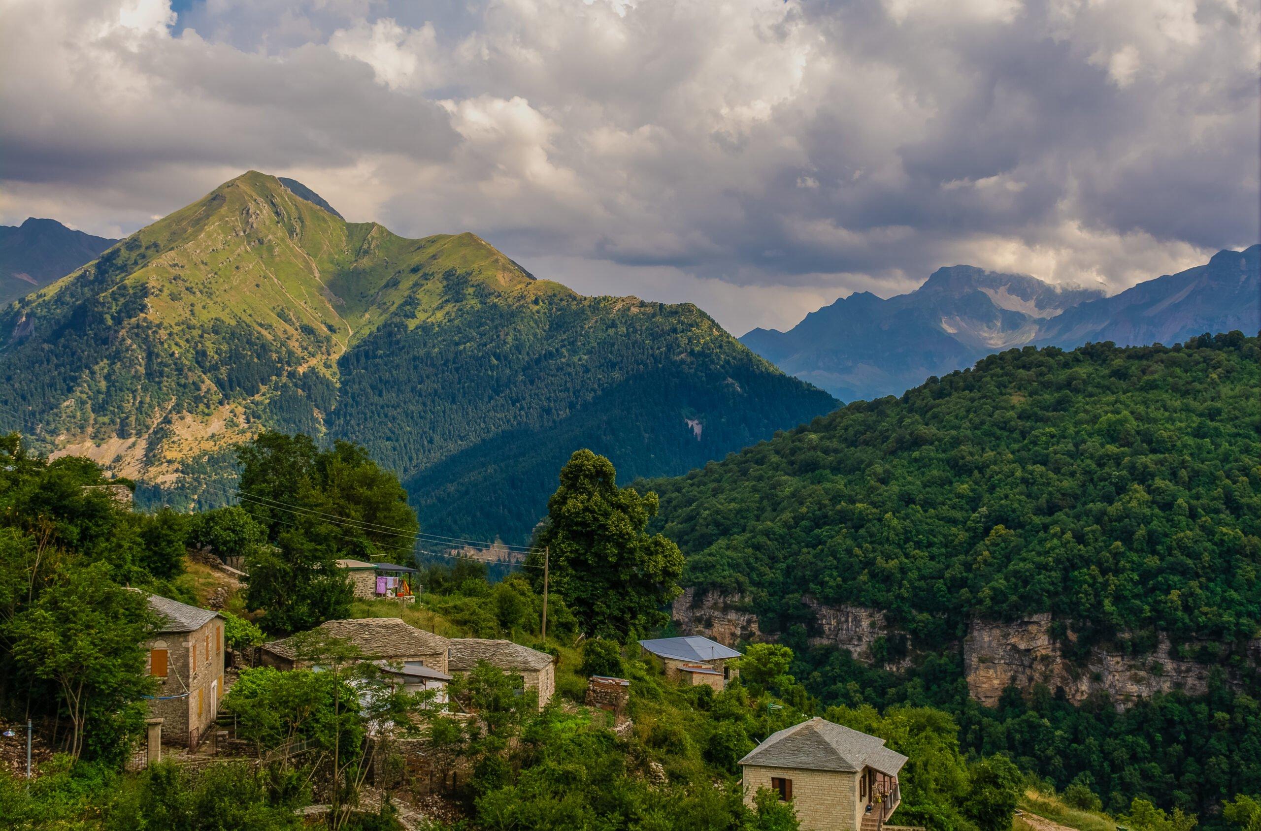 Enjoy The Beautiful Views Over The Epirus Mountains On The Sirako And Kalarites Hiking Tour From Tzoumerka