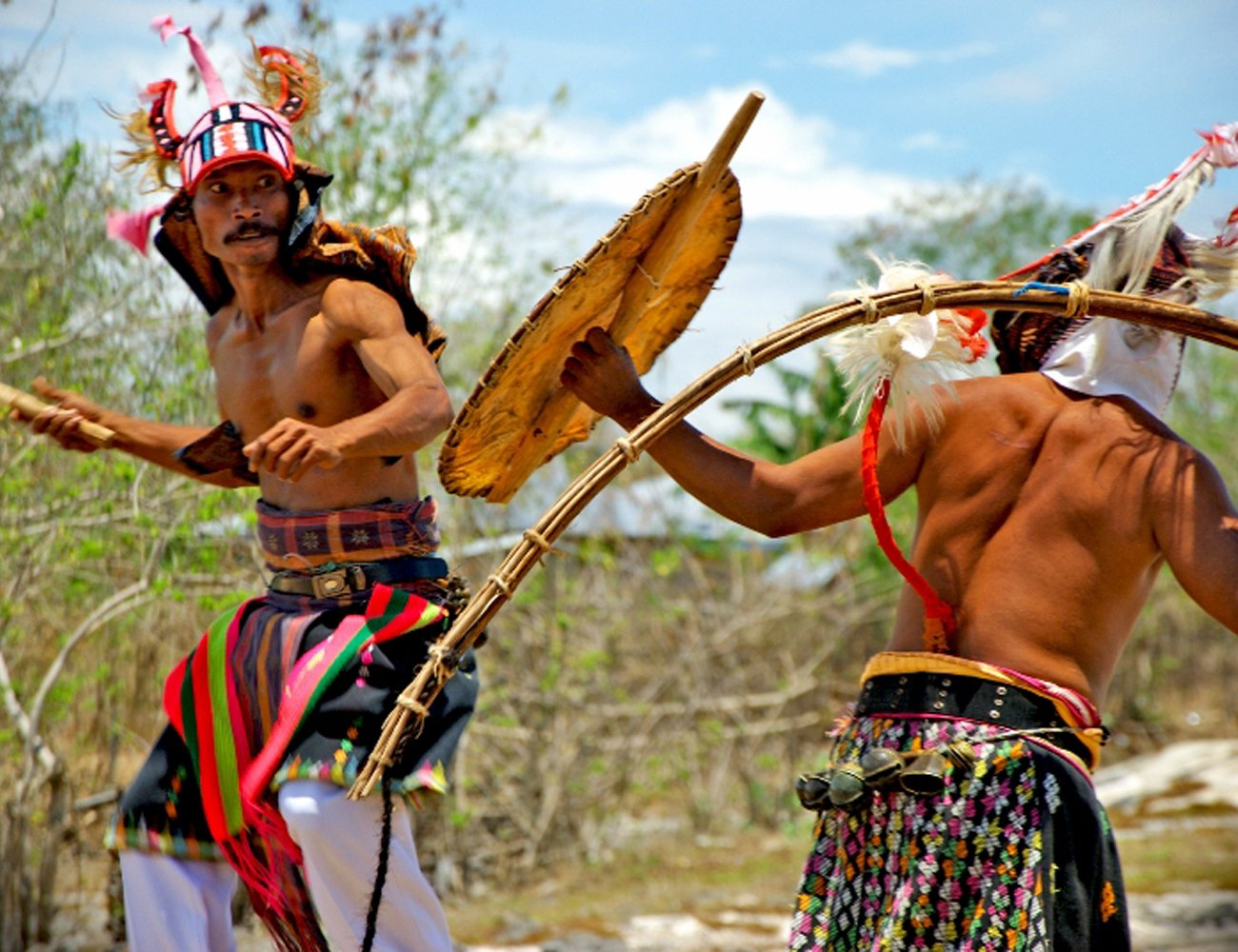 Experience A Caci Dance During The Flores Cultural Tour From Labuan Bajo_63