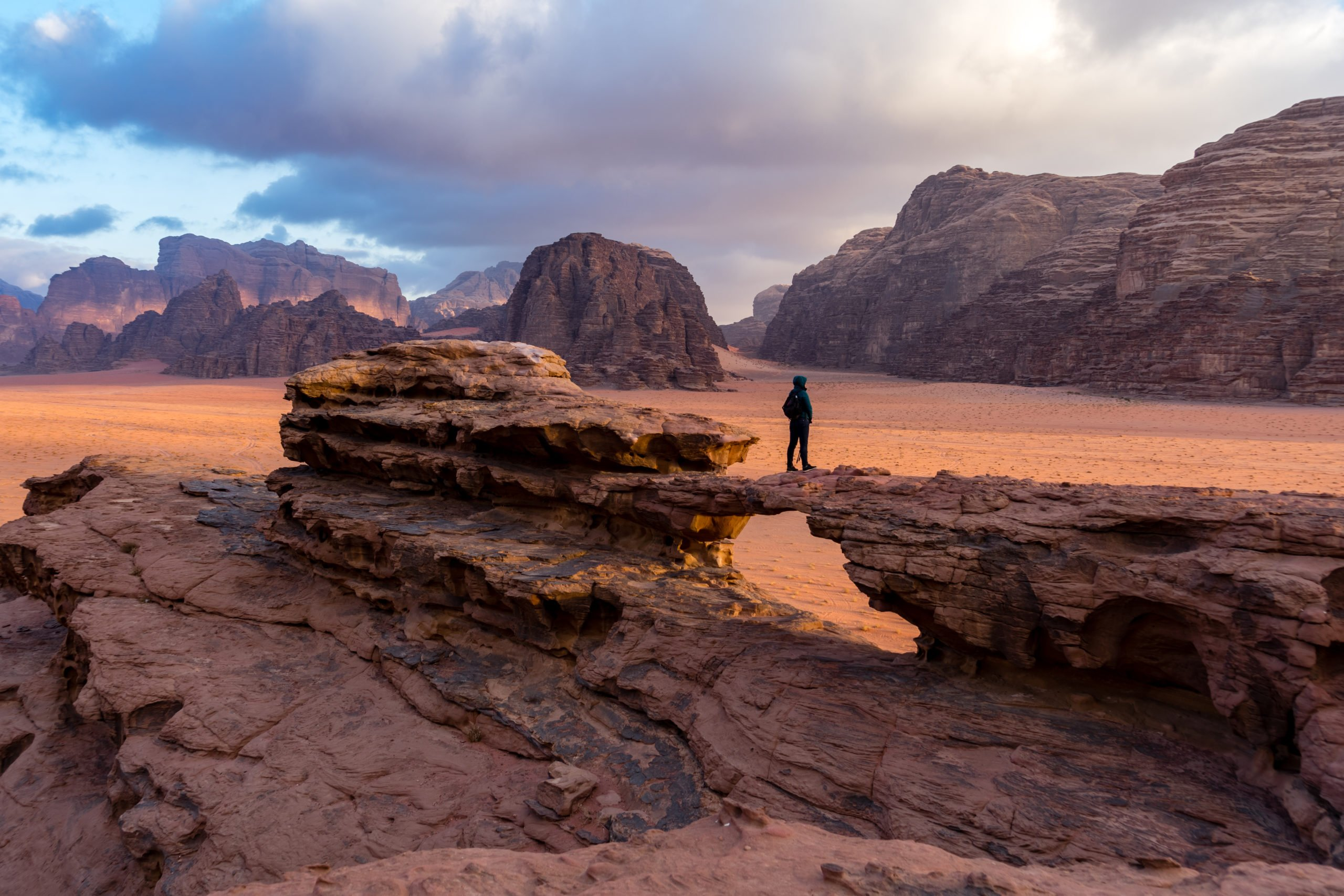 Experience The Beauty Of Wadi Rum During The 10 Day Jordan, Dubai And Abu Dhabi Package Tour