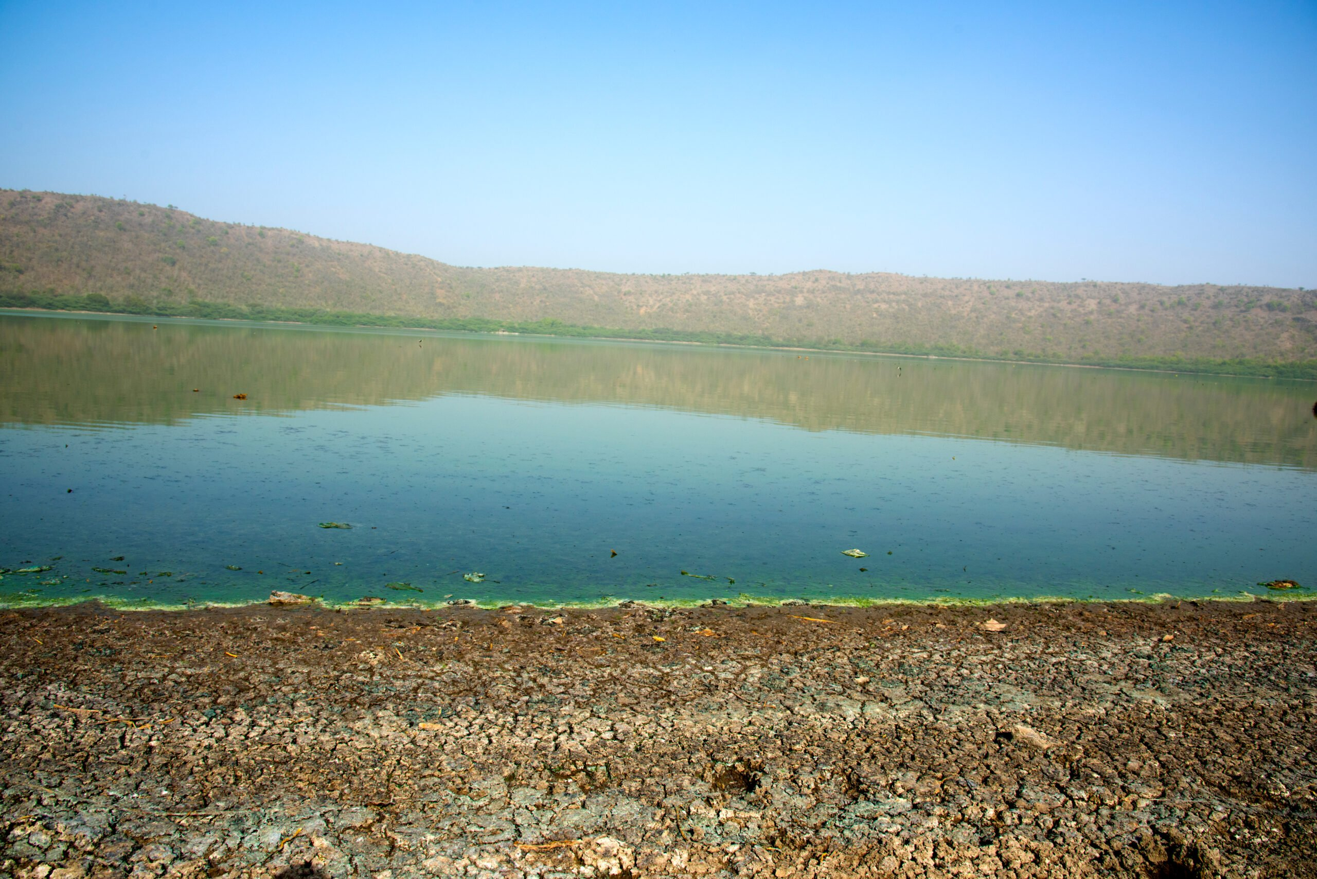 Explore Lonar Lake In Our 6 Days World Heritage Sites Of Ajanta Ellora Lonar Meteor Mystery Tour Scaled