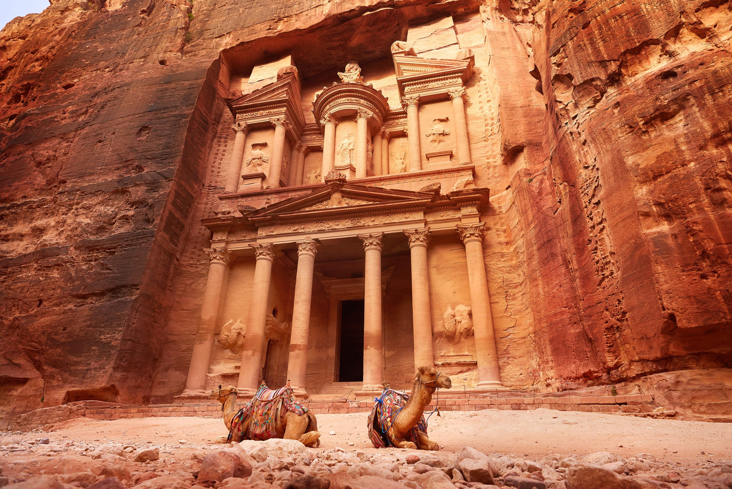 Explore The Majestic City Of Petra On The 13 Day Highlights Of Israel, Saudi Arabia & Jordan Package Tour