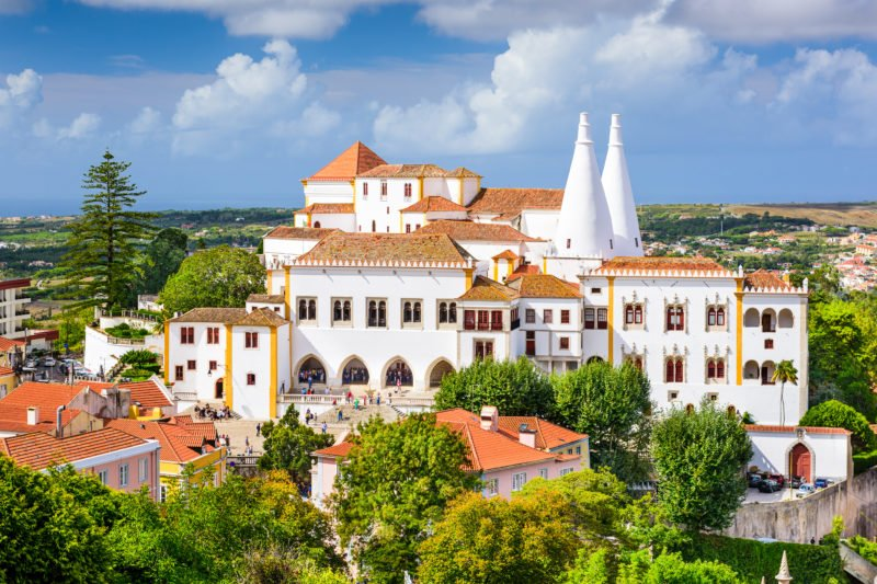 Explore The Beautiful National Palace Of Sintra
