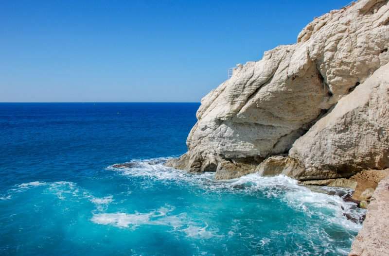 Explore The Beautiful Caves Of Rosh Hanikra