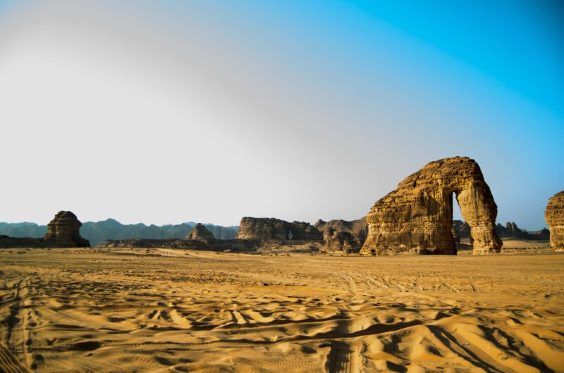 Explore The Famous Elephant Rock And The Carved Tombs Of Madain Saleh On The 4 Day Madain Saleh Tour From Aqaba