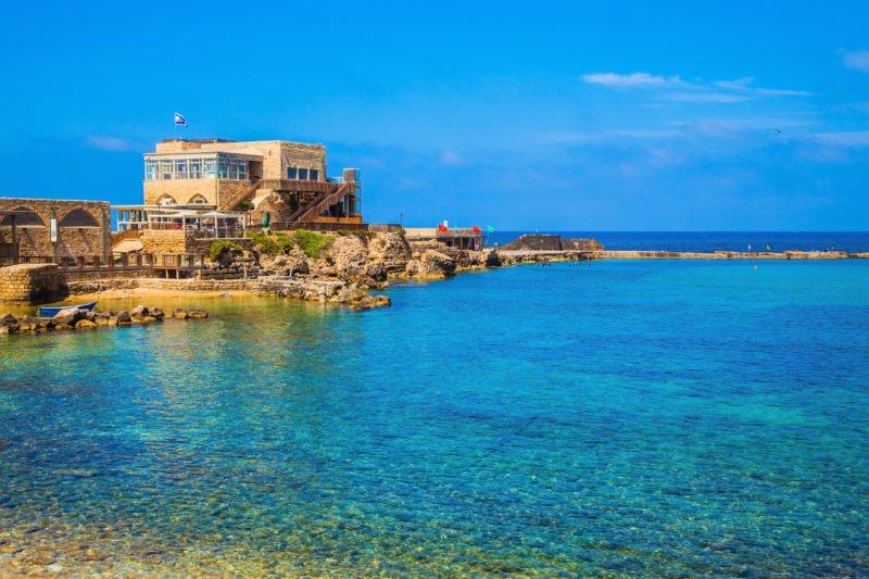 Explore The Ruins Of Caesarea On The 13 Day Israel, Jordan, Dubai And Abu Dhabi Package Tour