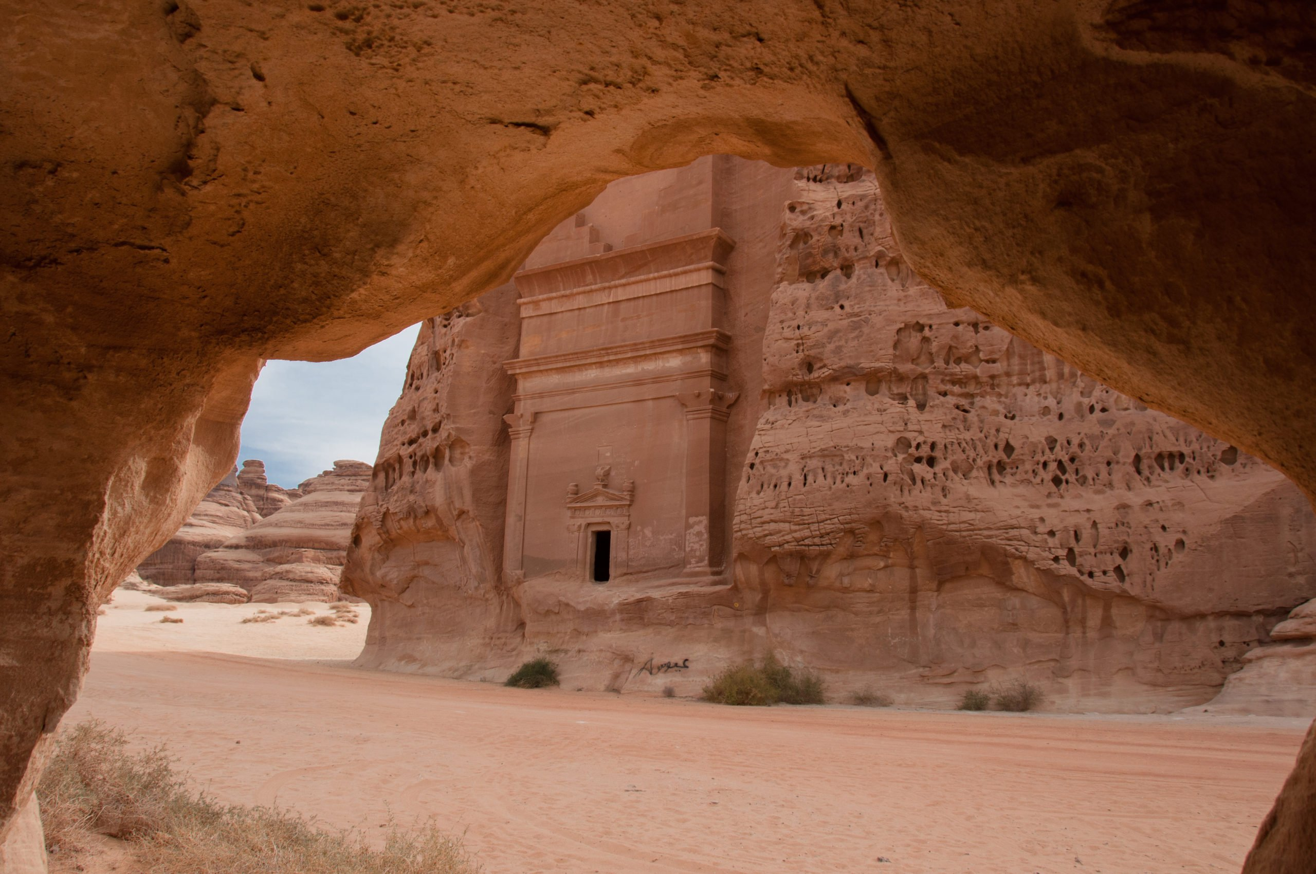 Explore The Tombs In Madain Saleh On The 13 Day Highlights Of Israel, Saudi Arabia & Jordan Package Tour