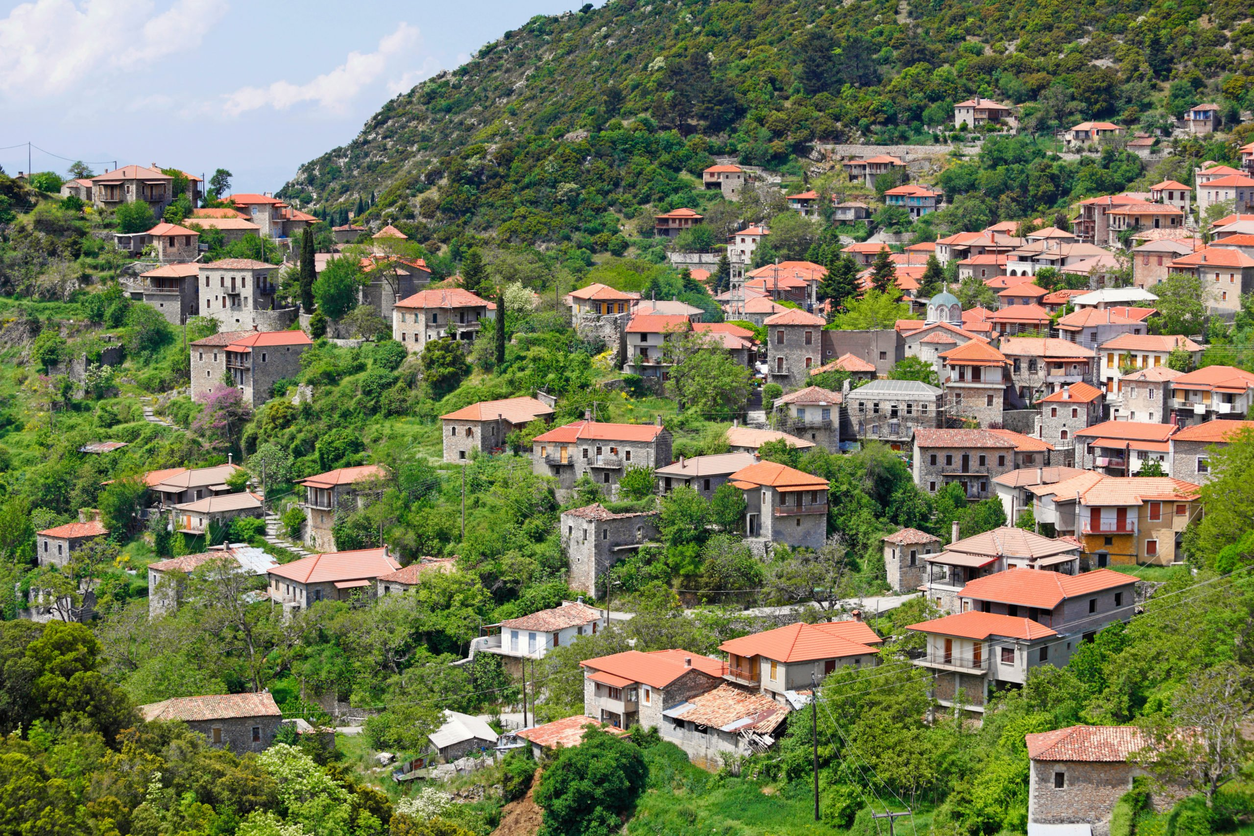 Explore The Traditional Village Of Stemnitsa On The Peloponnese Rafting & Hiking Experience From Athens