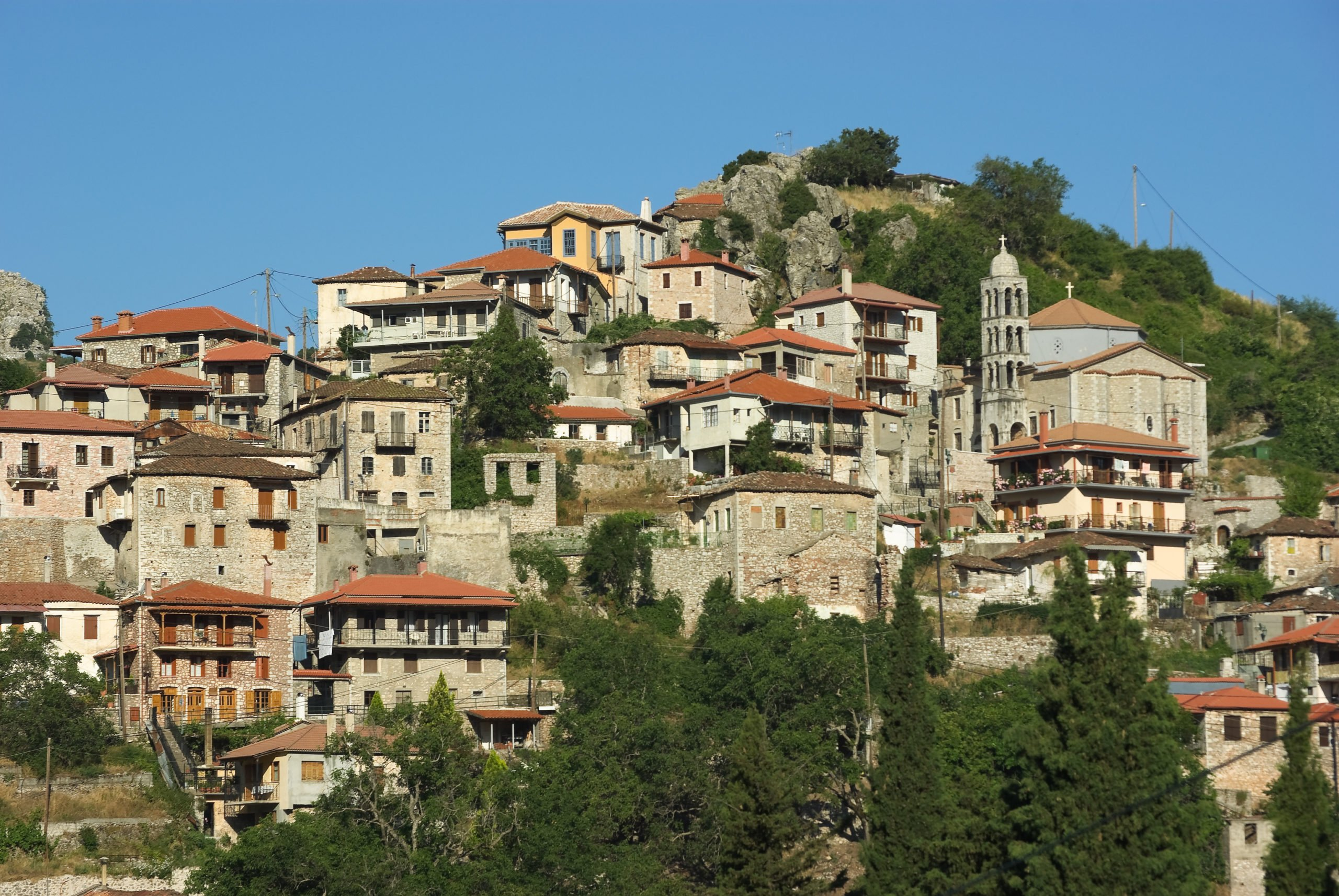 Explore The Traditional Village Of Dimitsana On The Self- Driving Peloponnese Rafting & Hiking Experience From Athens
