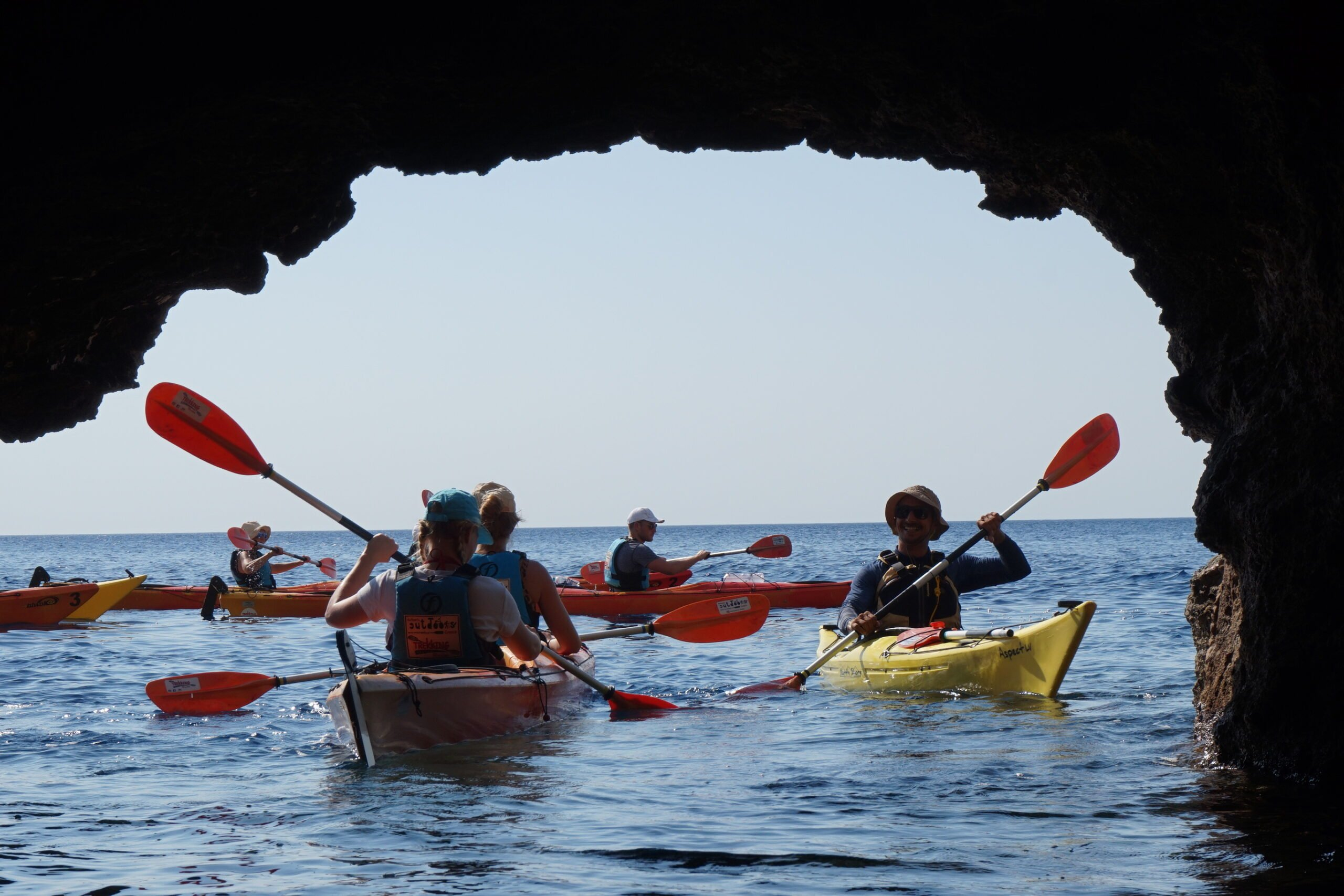 Kayaking Activity In Our 9 Day Island Hopping From Rhodes