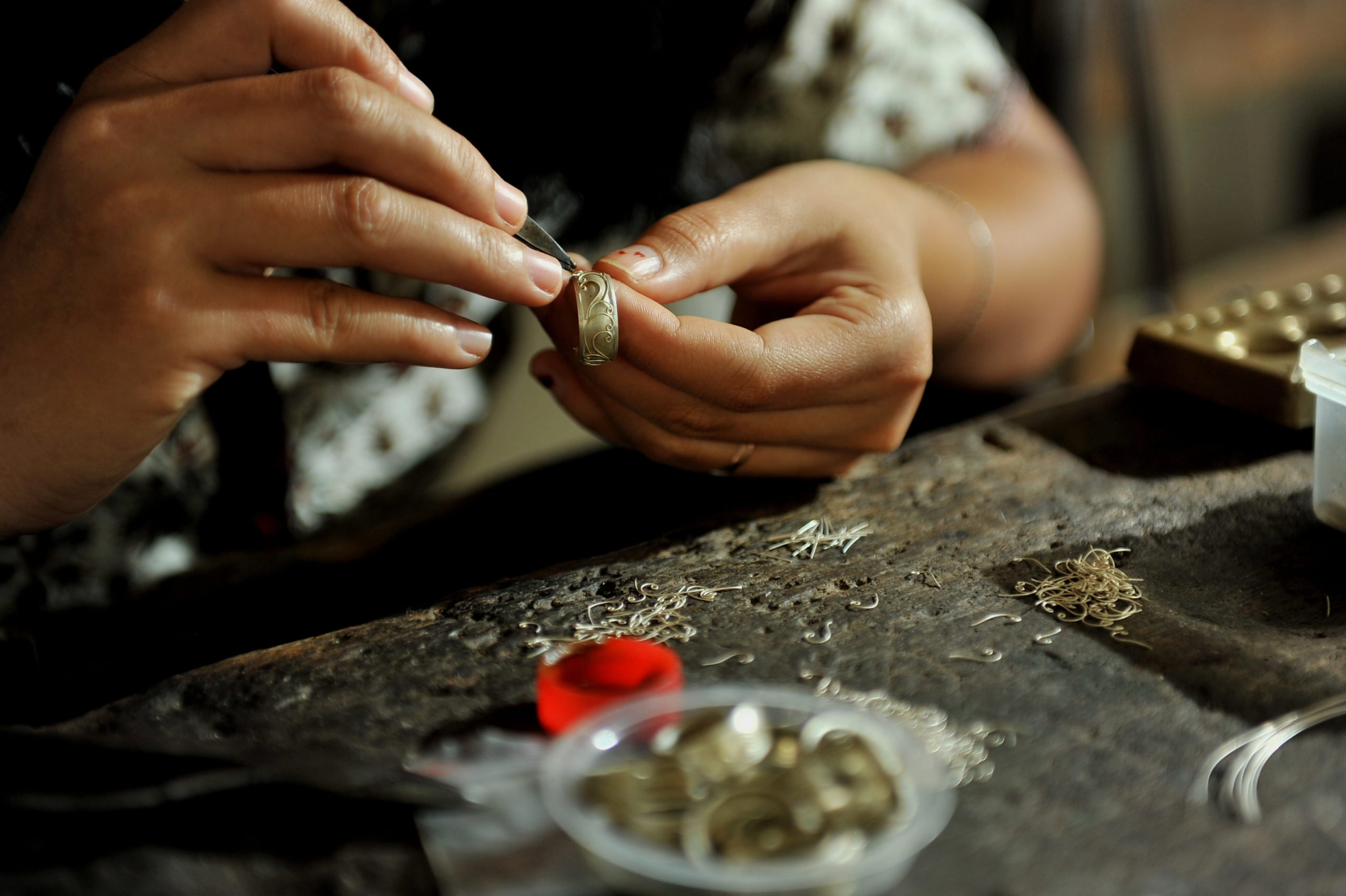 Learn More About The Traditional Art In Celuk Village On The Ubud Village Tour