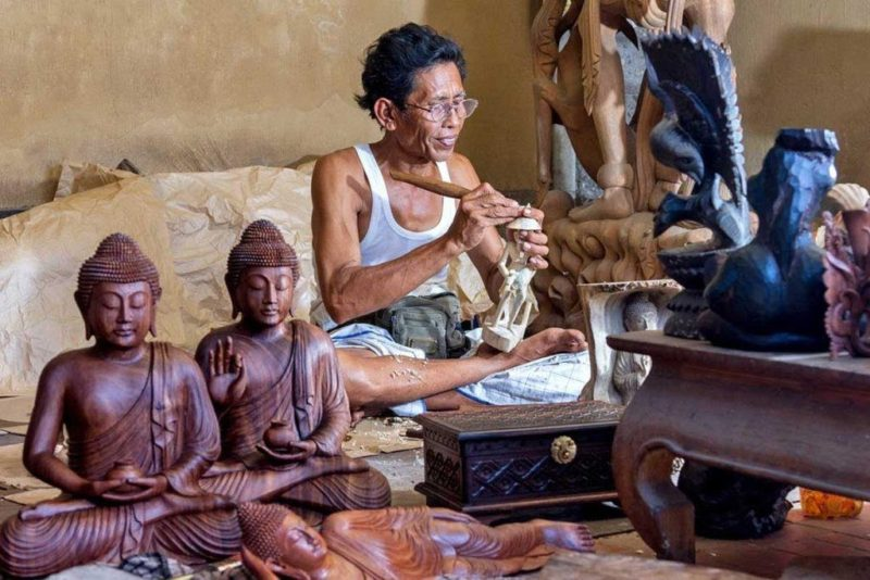 Learn More About The Traditional Wood Carving In Mas Illage On The Ubud Village Tour