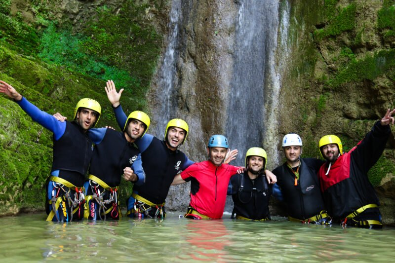 Make New Friends On The Canyoning Experience In Tzoumerka_71