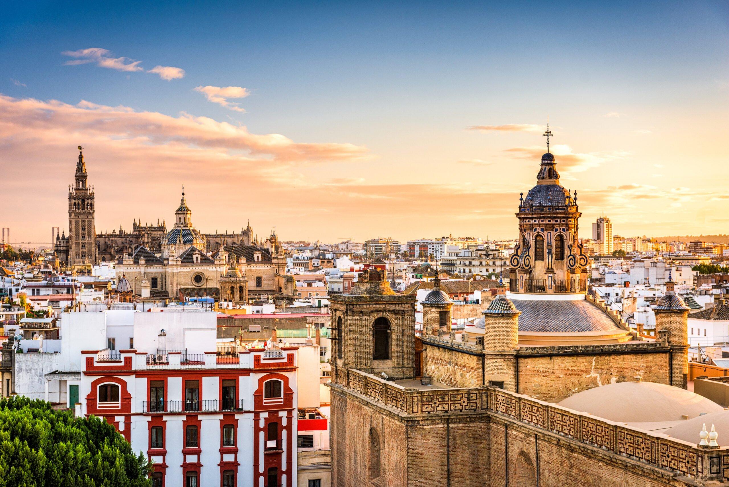 Marvel The Beautiful Skyline Of Seville On The Insider Seville City Tour